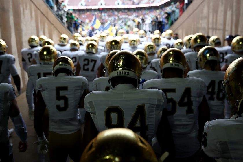 Notre Dame football GETTY Sub