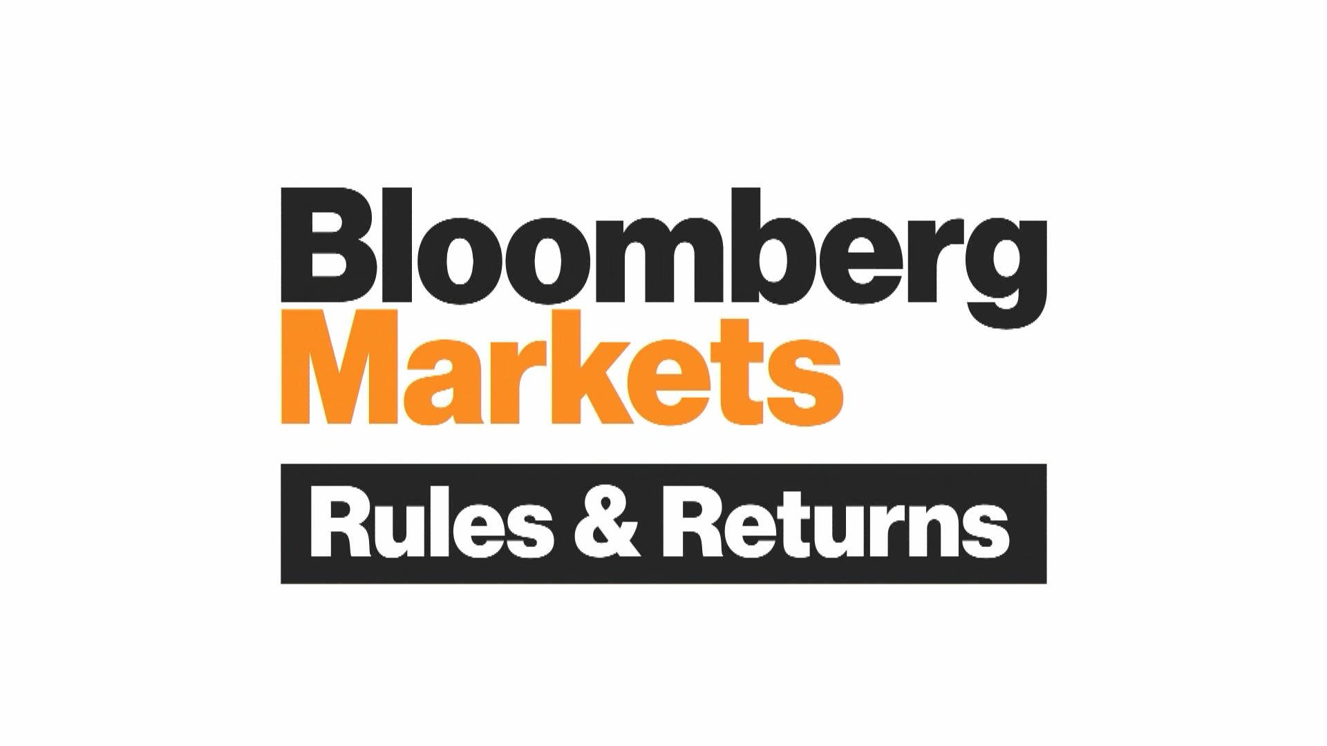 'Bloomberg Markets: Rules & Returns' Full Show (02/15/2019)