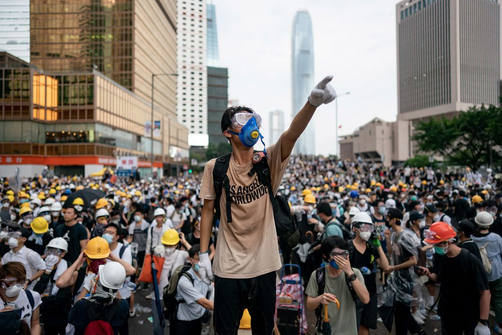 Hong Kong People Power Makes Trump's Case on China's Home Turf