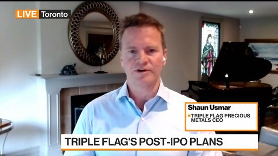 Triple Flag CEO Sees Robust Pipeline for Mining Production Deals
