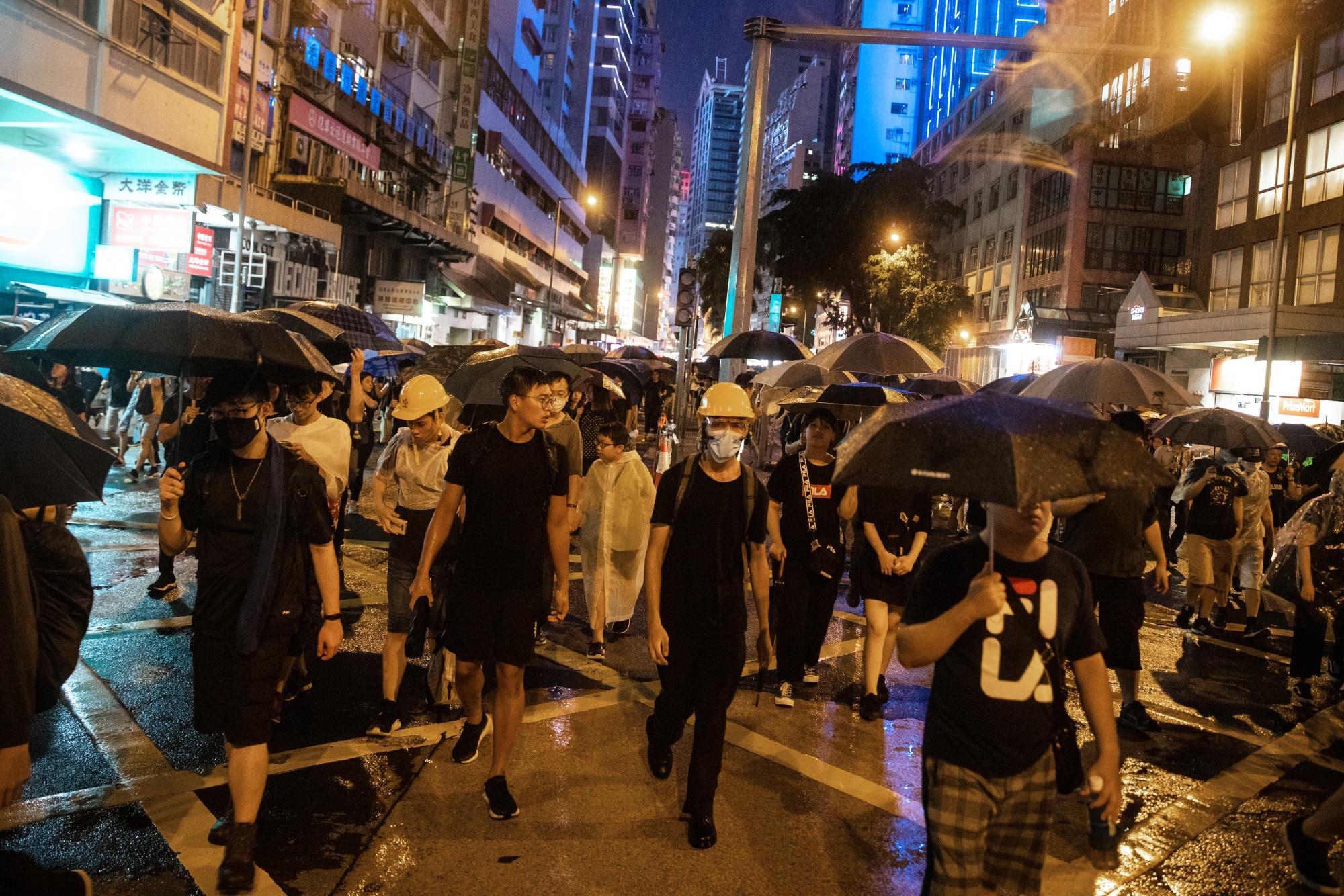 中国が重視する建国70年-香港の抗議活動も重大な局面に - Bloomberg