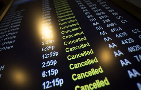 Airlines Scrub 3,800 U.S. Flights to Ease Storm Disruptions