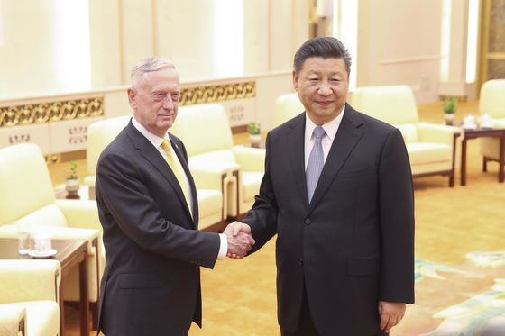 Xi Warns Mattis China Won't Surrender 'One Inch' Of Territory