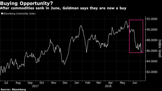 Goldman Says Buy Commodities as Clock Ticks Toward Trade War