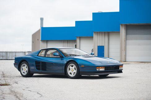 A 1989 Ferrari Testarossa.