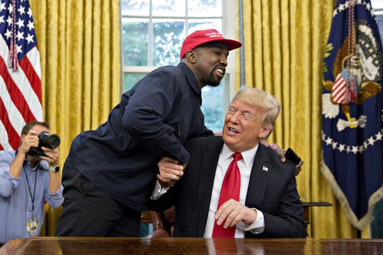 After Kanye Praises Trump, De Niro Talks of Finding Anti-Trump