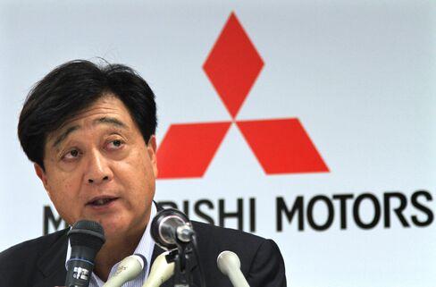 Mitsubishi Motors Corp President Osamu Masuko