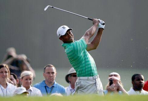 Golfer Tiger Woods