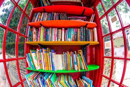 A peek inside the children's library in southeast London.