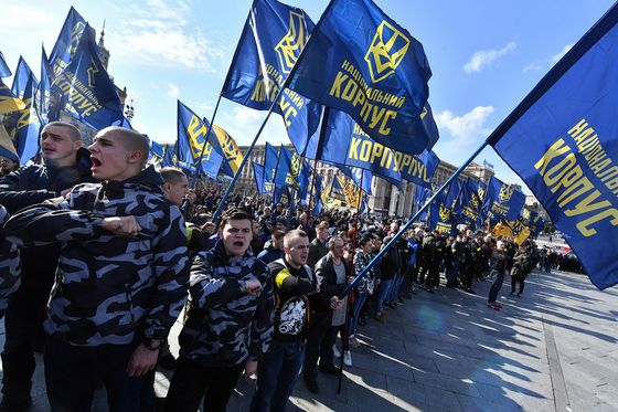 Protesters in Ukraine Seek Punishment for Graft in Military