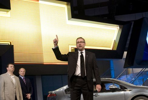 General Motors Co. Former VP of U.S. Marketing Joel Ewanick