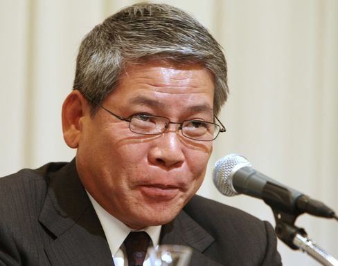 Hiroshi Kimura, president of Japan Tobacco Inc.