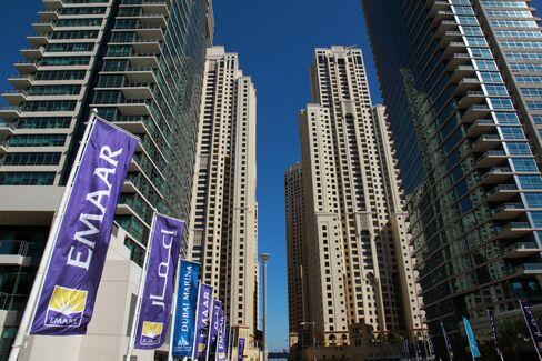 Dubai's Stocks Advance to Week-High on Emaar