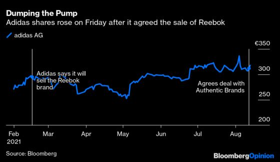 Reebok's New Dad Says the Shoe Must Go On