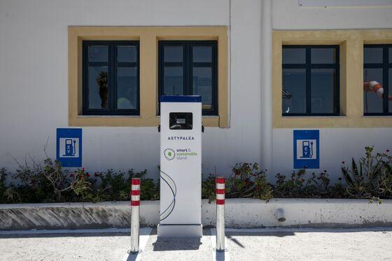 Greece Plans Green-Energy Shift to Power Electric VW Fleet