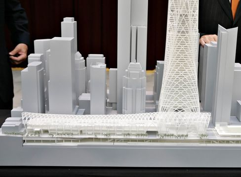 The Transbay Transit Center design concept.