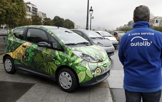 Paris Pulls Plug on Electric Car Service After Bike Debacle