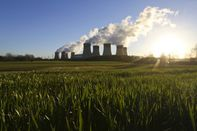 Drax Power Station As Profit Drops On Carbon Costs And Biomass Conversion
