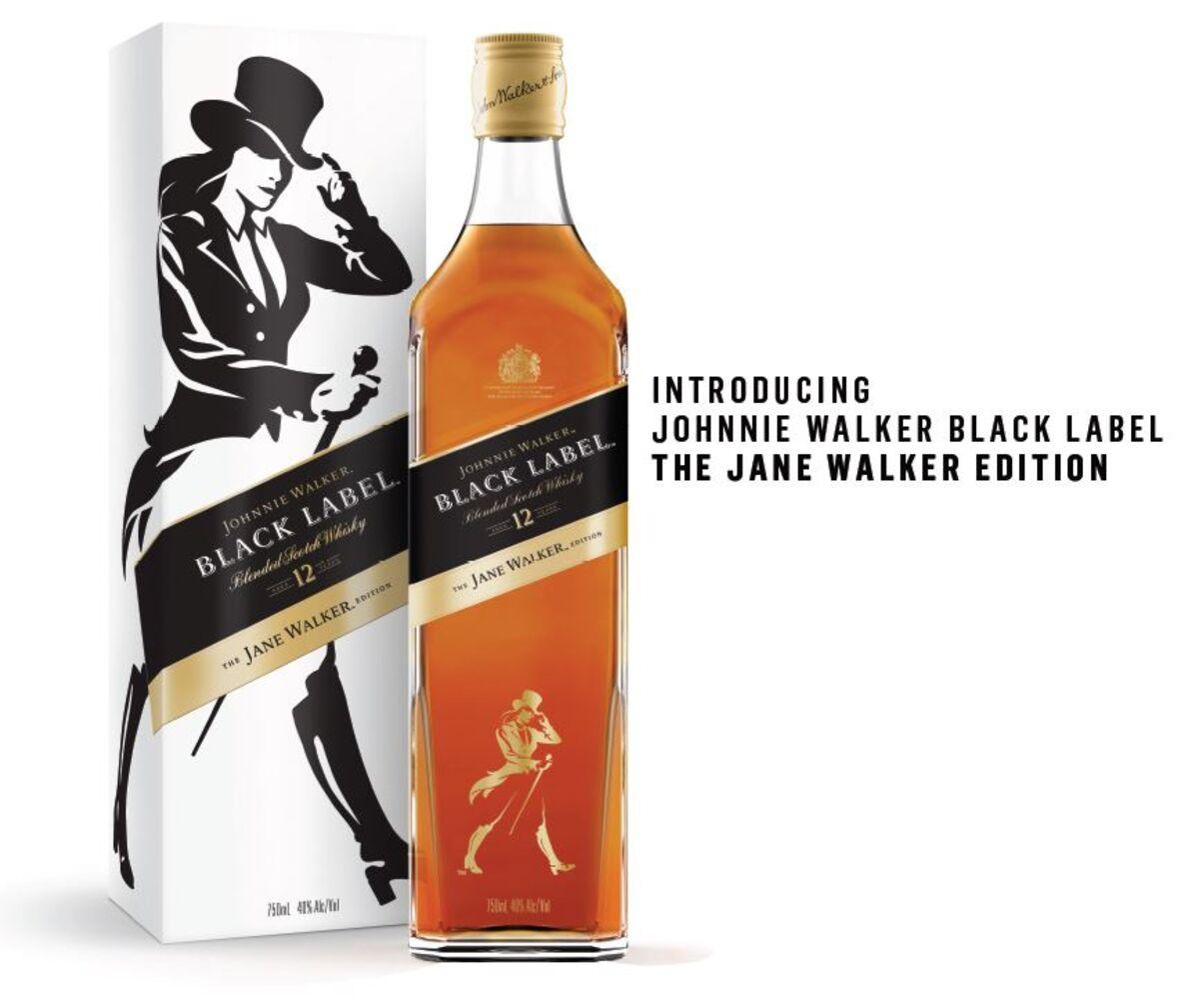 Diageo Introduces 'Jane Walker' Scotch in Bid to Attract Women