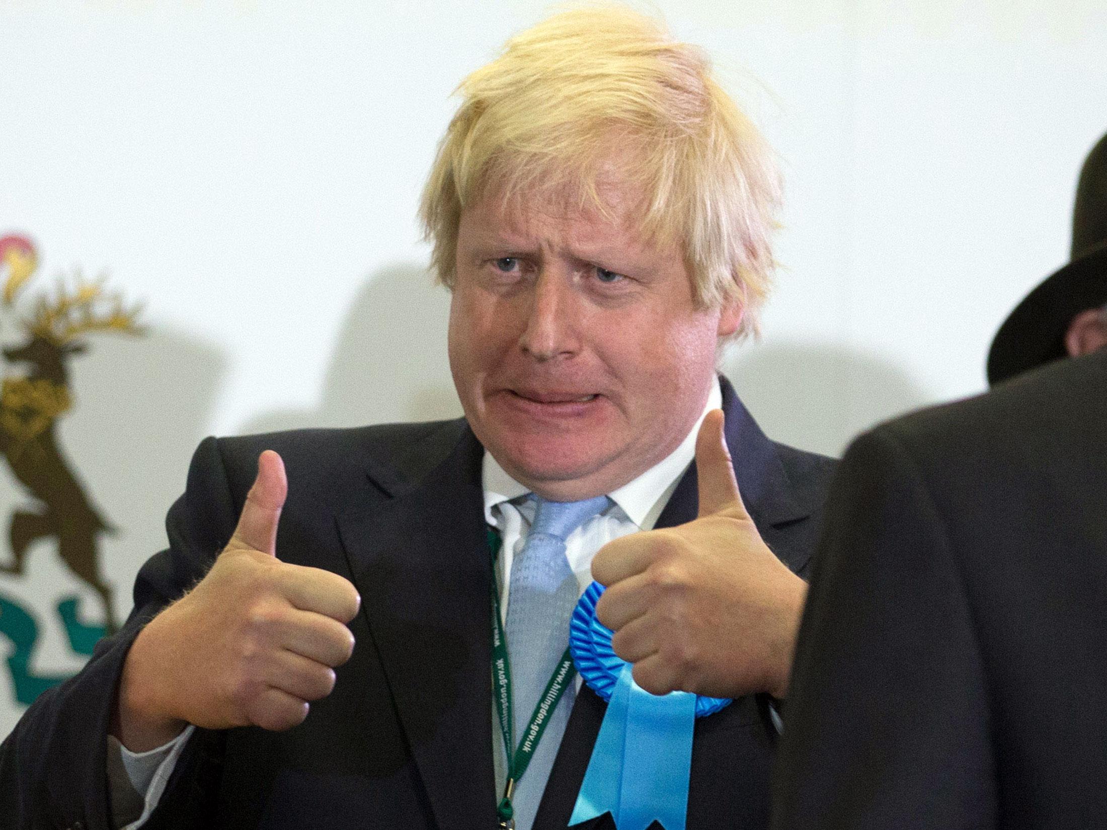 Boris Johnson Win