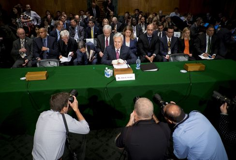 Wells Fargo CEO John Stumpf Testifies To Senate Banking Committee Over Alleged Misconduct