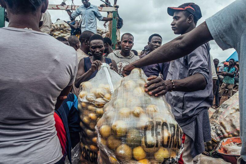 Mercados de alimentos como pandemia expõem a insegurança alimentar da Nigéria