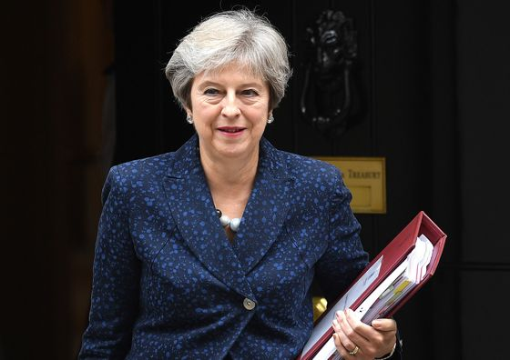 May Warns Restive Tories She Won't Back Off Her Brexit Plan
