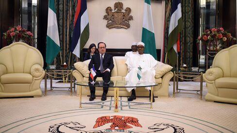 NIGERIA-FRANCE-DIPLOMACY