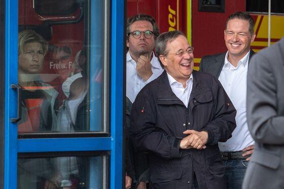 Merkel Forced Into Damage Control Mode After Laschet's Gaffe