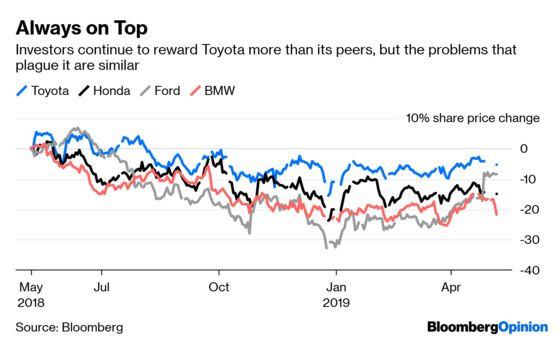 For Toyota, Cruise Control Isn't Fast Enough