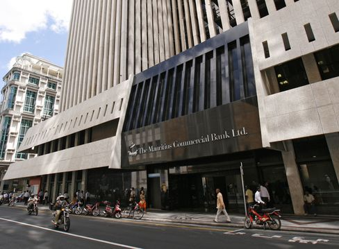 Shares of Mauritius Commercial Bank (MCB), the largest company by market value on the nation's Semdex Index , have dropped 7 percent since April last year and recorded their third quarter of declines in the three months through March.