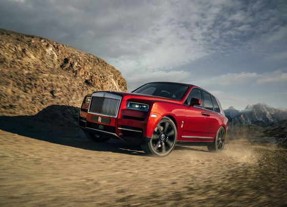 Rolls-Royce Debuts Its First SUV, the $325,000 Cullinan