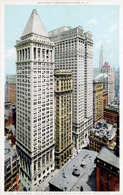 The Bankers Trust Building, Rovt's piece of 'the history of America'