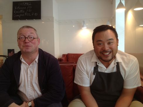 Fergus Henderson and David Chang