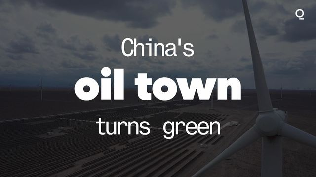 China's Oil Town Turns Green