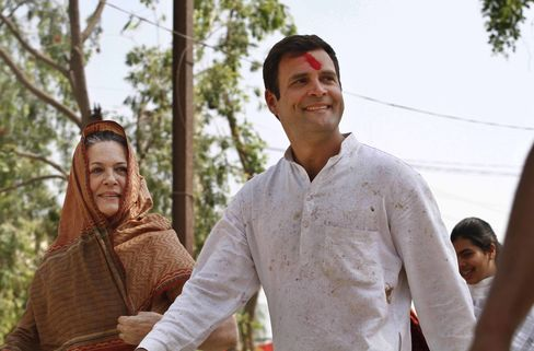 Rahul Gandhi and Sonia Gandhi