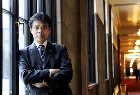 Former Morgan Stanley banker Tsutomu Okubo.