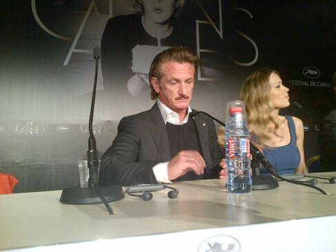 Sean Penn and Petra Nemcova