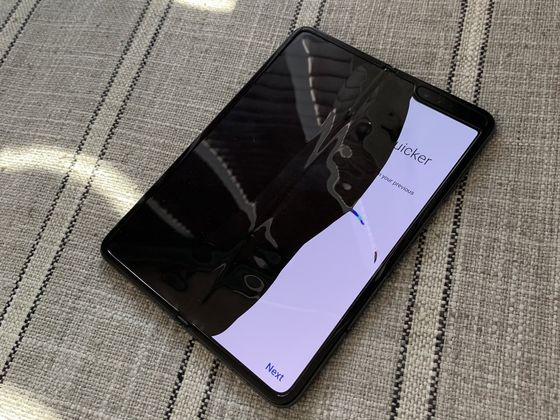 Samsung Delays Launch of Galaxy Fold After Screen Failures