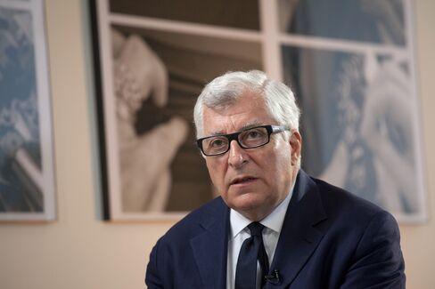 Prada SpA CEO Patrizio Bertelli