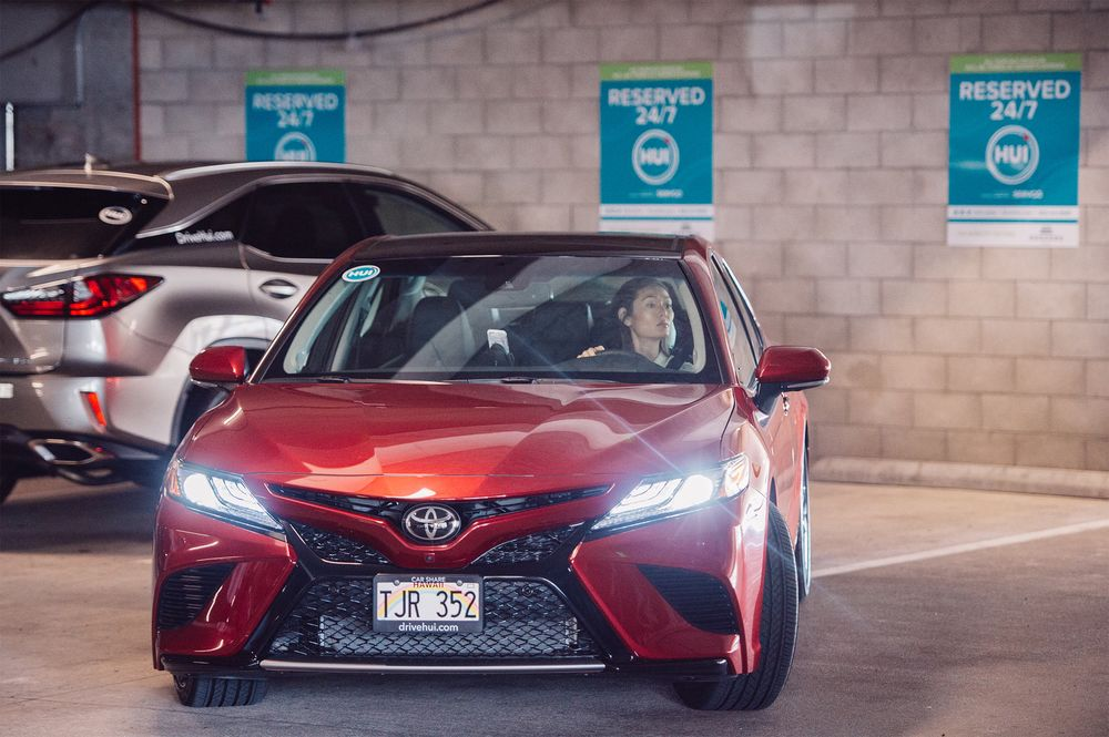 Toyota Launches App Controlled Car Sharing In Honolulu Bloomberg