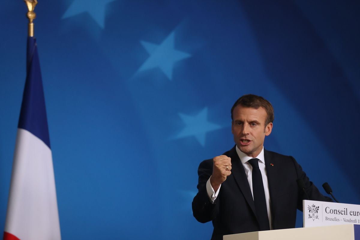 What If Macron Blocked a Brexit Delay? His Reasons to Be Tempted