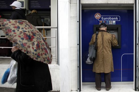 European Stocks Drop Most This Month, Eurobank Rises