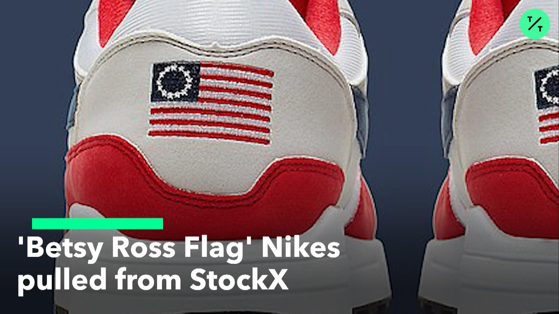 9cecafb5 StockX Removes 'Betsy Ross Flag' Nikes – Bloomberg
