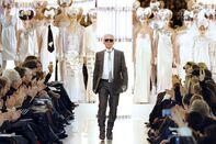 German designer Karl Lagerfeld acknowled