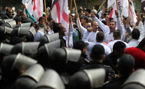 Egypt Opposition to Protest on Second Anniversary of Uprising