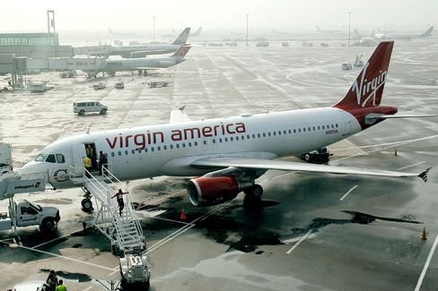 Virgin America to Merging Airlines: Let Us Into Your Hubs