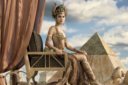 Elodie Yung stars as 'Hathor' in Gods Of Egypt