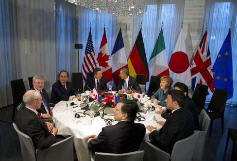 Russia Excluded From G-8 as Leaders Warn Putin of More Sanctions