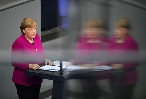 Merkel Urges Germany to Support EU Stimulus to Counter Virus
